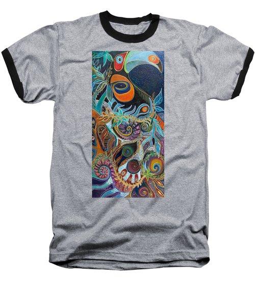Luminous Baseball T-Shirt by Leela Payne
