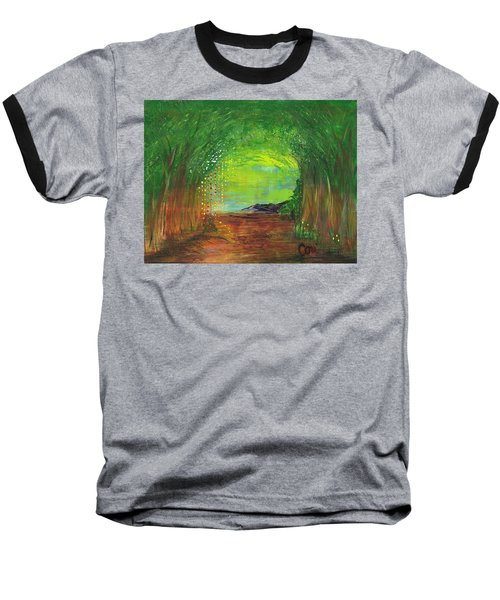 Luminous Path Baseball T-Shirt