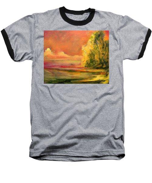 Luminous Sunset 2-16-06 Julianne Felton Baseball T-Shirt