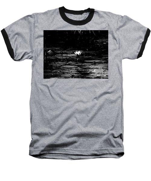 Luminous Water Lily  Baseball T-Shirt