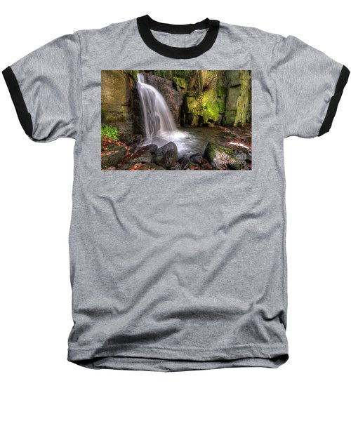 Baseball T-Shirt featuring the photograph Lumsdale Falls 3.0 by Yhun Suarez