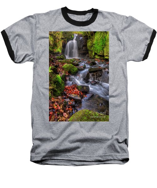 Baseball T-Shirt featuring the photograph Lumsdale Falls 4.0 by Yhun Suarez