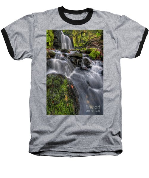 Baseball T-Shirt featuring the photograph Lumsdale Falls 5.0 by Yhun Suarez
