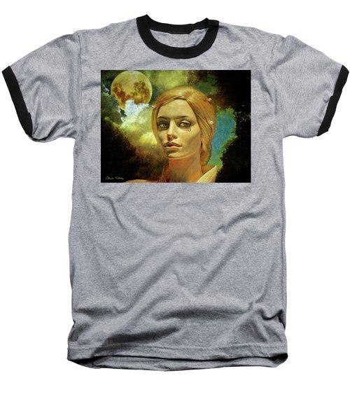 Luna In The Garden Of Evil Baseball T-Shirt