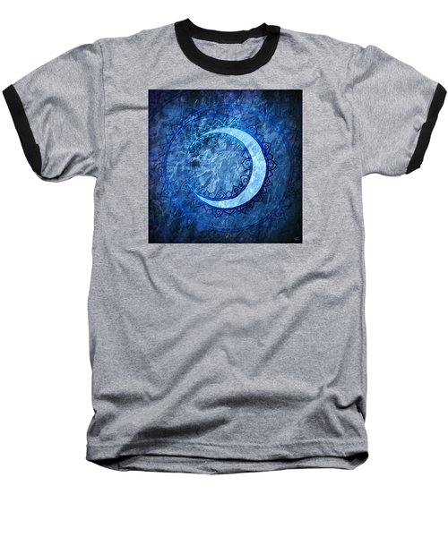 Luna Baseball T-Shirt by Kenneth Armand Johnson