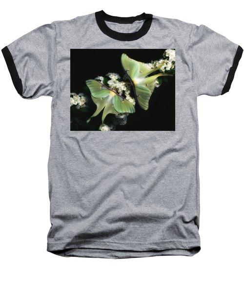 Luna Moths Baseball T-Shirt