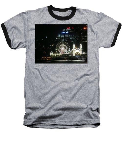 Luna Park Baseball T-Shirt by Leanne Seymour