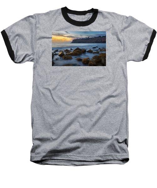 Lunada Bay Baseball T-Shirt by Ed Clark