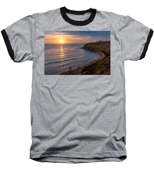 Lunada Bay Sunset Baseball T-Shirt