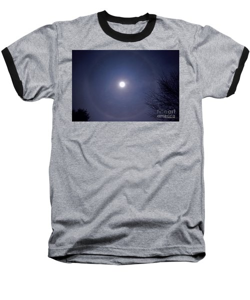 Lunar Corona Baseball T-Shirt