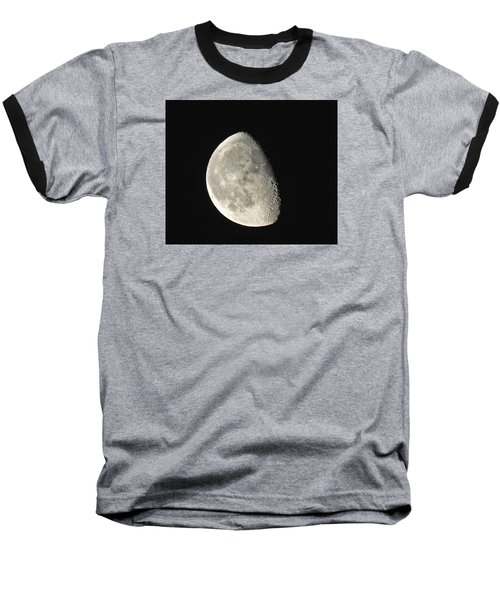 Lunar Delight Baseball T-Shirt by Brian Chase