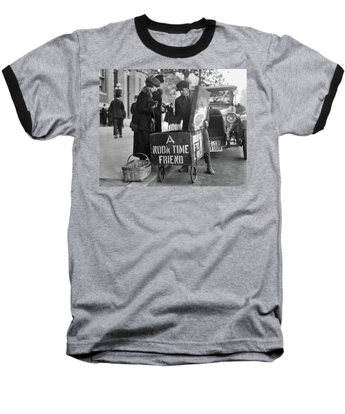 Lunch Cart In Washington D C Baseball T-Shirt