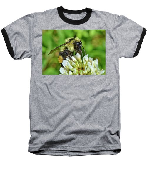 Baseball T-Shirt featuring the photograph Lunch In The Garden by Ludwig Keck