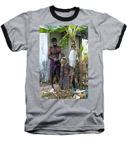 Baseball T-Shirt featuring the photograph Lunch by Marion Galt
