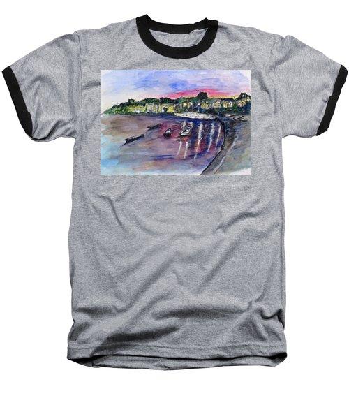 Luogo Mergellina, Napoli Baseball T-Shirt