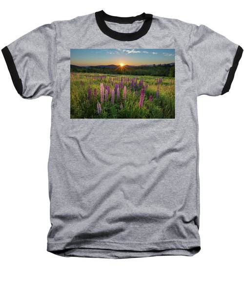 Lupine Sunrise Baseball T-Shirt