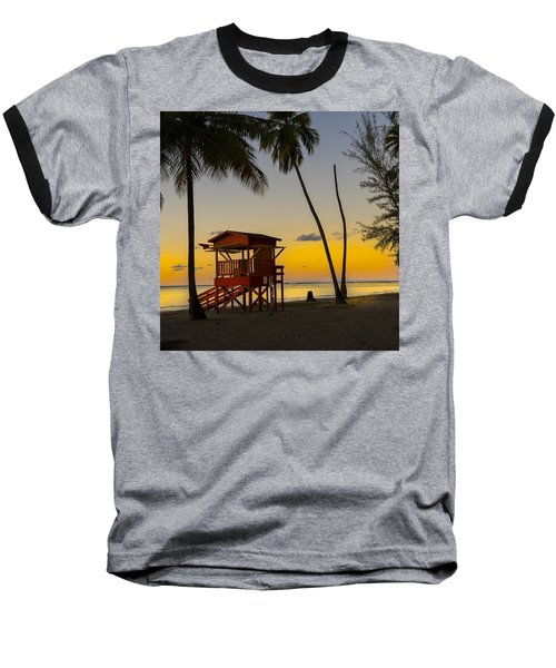 Luquillo Sunset  Baseball T-Shirt