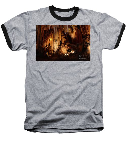 Luray Dark Caverns Baseball T-Shirt by Paul Ward