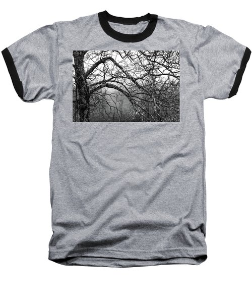 Baseball T-Shirt featuring the photograph Lure Of Mystery by Karen Wiles