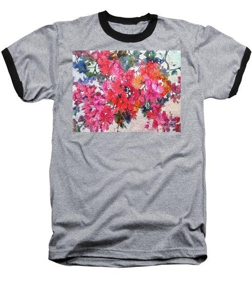 Luscious Bougainvillea Baseball T-Shirt
