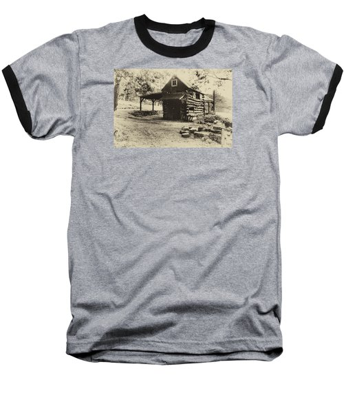 Baseball T-Shirt featuring the photograph Luxenhaus Cow Barn by William Fields