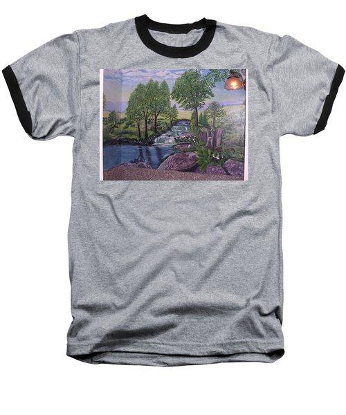 Luxury Bath Time Baseball T-Shirt