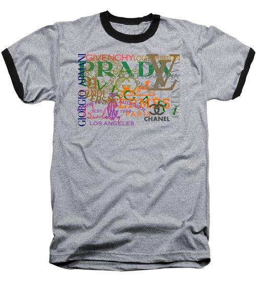 Luxury Fashion Baseball T-Shirt