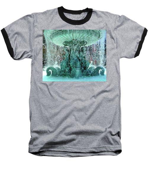 Lv Fountain Baseball T-Shirt