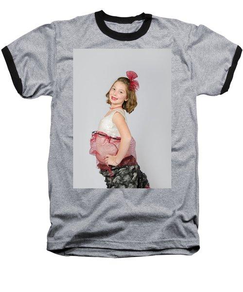Lydia In Wraps Baseball T-Shirt