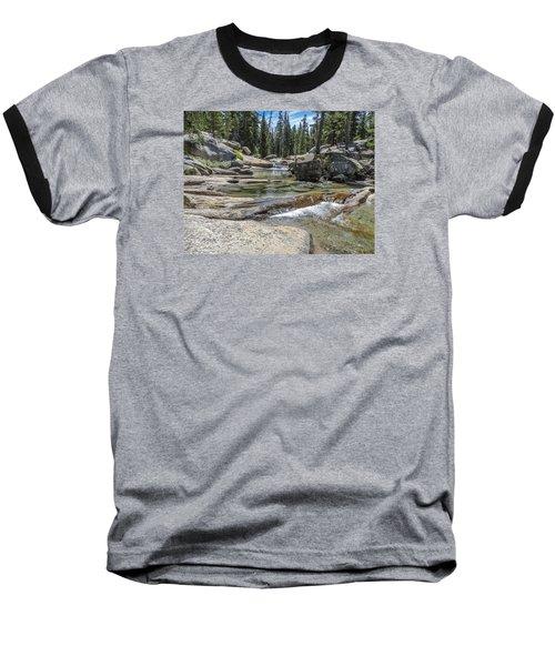 Lyell Fork Tuolomne River Yosemite National Park Baseball T-Shirt