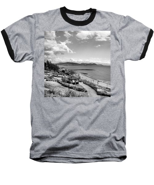 Lyme Regis And Lyme Bay, Dorset Baseball T-Shirt by John Edwards