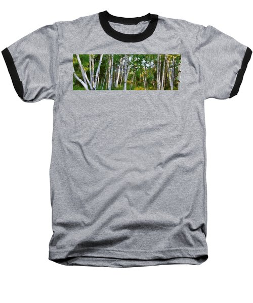 M-22 Birches Baseball T-Shirt