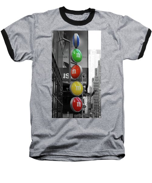 M And Ms In New York City Baseball T-Shirt