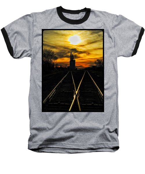 M Track Baseball T-Shirt