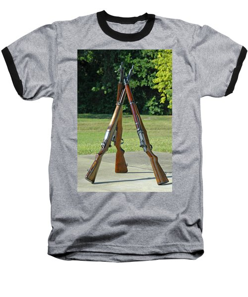 M1 Pyramid Baseball T-Shirt