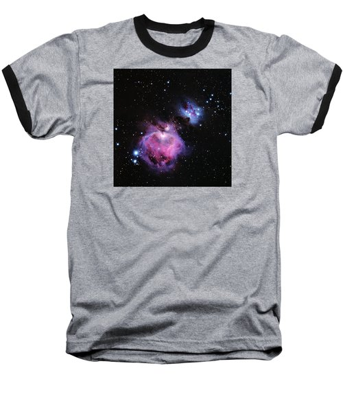 M42--the Great Nebula In Orion Baseball T-Shirt by Alan Vance Ley