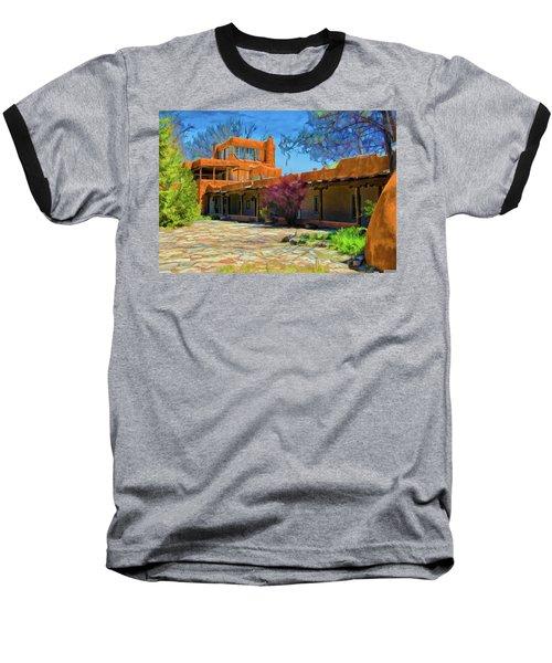 Mabel's Courtyard As Oil Baseball T-Shirt