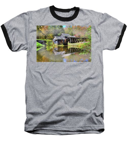 Mabry Grist Mill Baseball T-Shirt