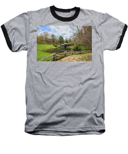 Mabry Mill In The Spring Baseball T-Shirt