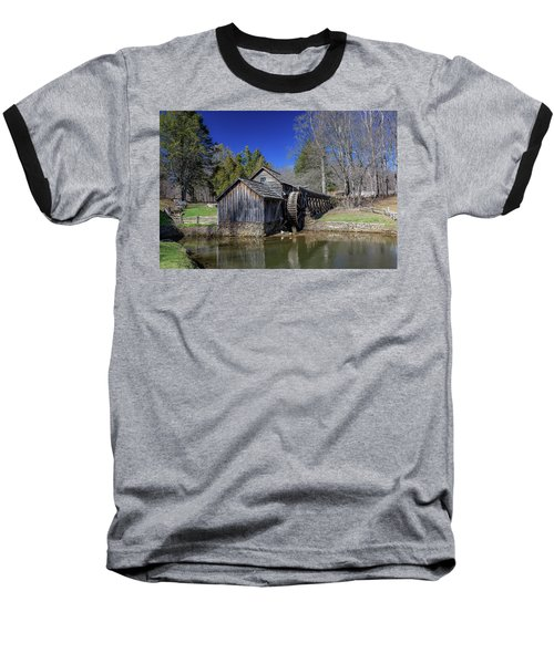 Mabry Mill Late Fall Baseball T-Shirt