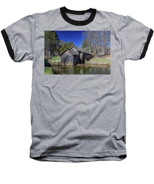 Mabry Mill Late Fall Baseball T-Shirt