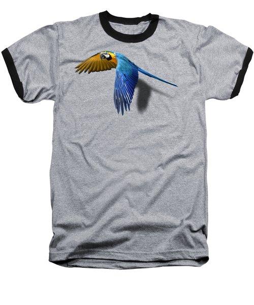 Macaw No 01 Baseball T-Shirt