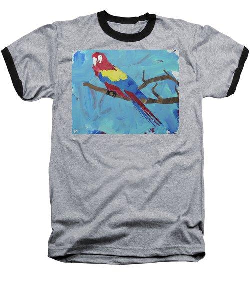Macaw Baseball T-Shirt