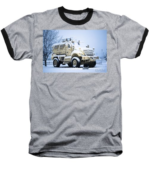 Machines Of War Baseball T-Shirt