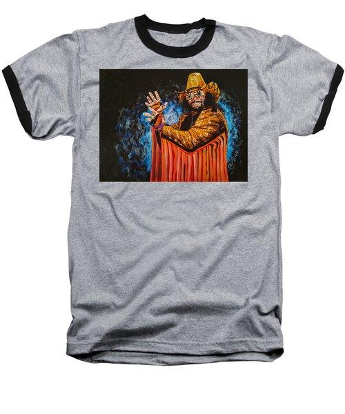 Macho Man Randy Savage Baseball T-Shirt