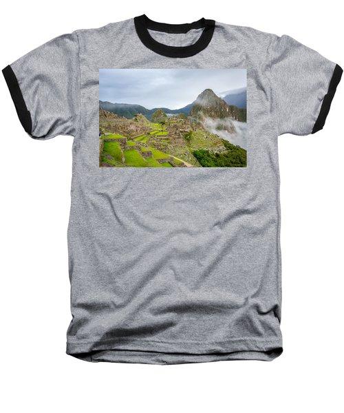 Machu Picchu. Baseball T-Shirt