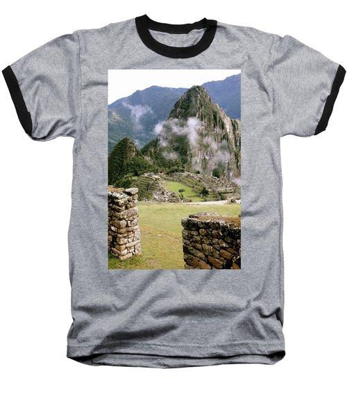 Machu Picchu In The Morning Light Baseball T-Shirt