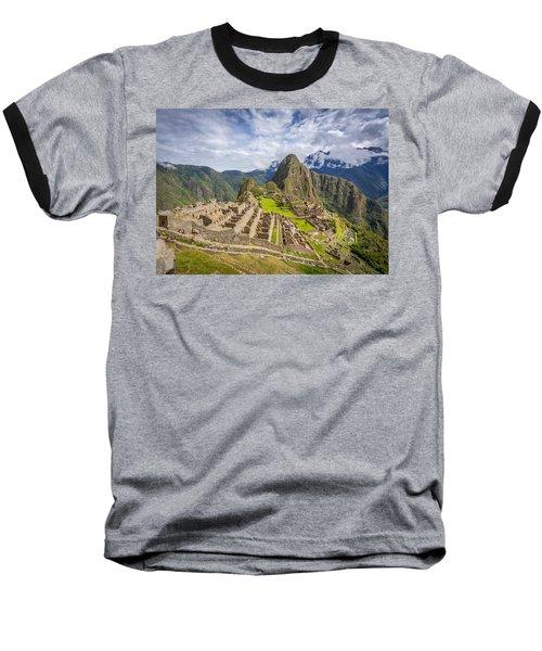 Machu Picchu Peru Baseball T-Shirt