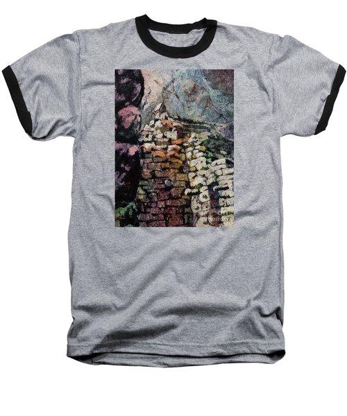 Machu Picchu Ruins- Peru Baseball T-Shirt by Ryan Fox