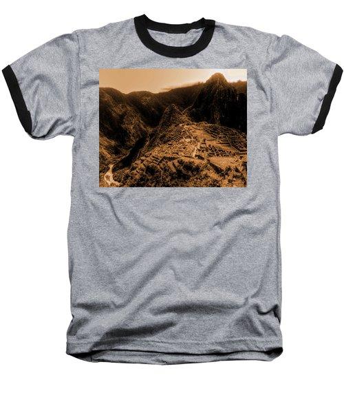 Machu Pichu Baseball T-Shirt